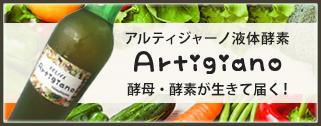 アルティジャーノ液体酵素 Artigiano 酵母・酵素が生きて届く